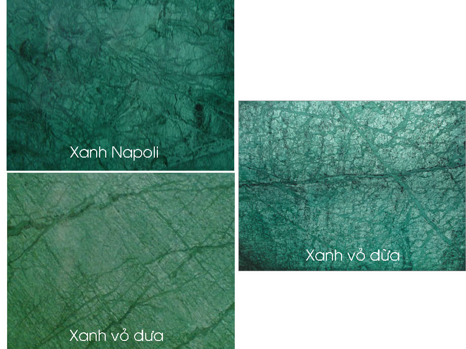 Cách phân biệt đá xanh Napoli với các dòng đá tương tự