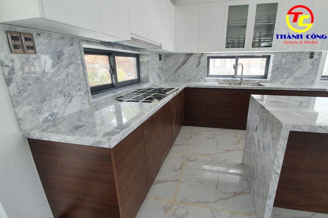 Đá hoa cương granite ốp bếp đẹp nhất