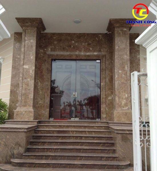 Mẫu ốp mặt tiền marble cao cấp